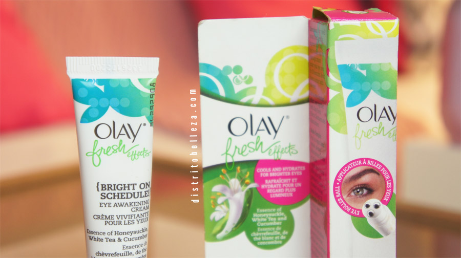 Crema para ojos Olay fresh effects crema
