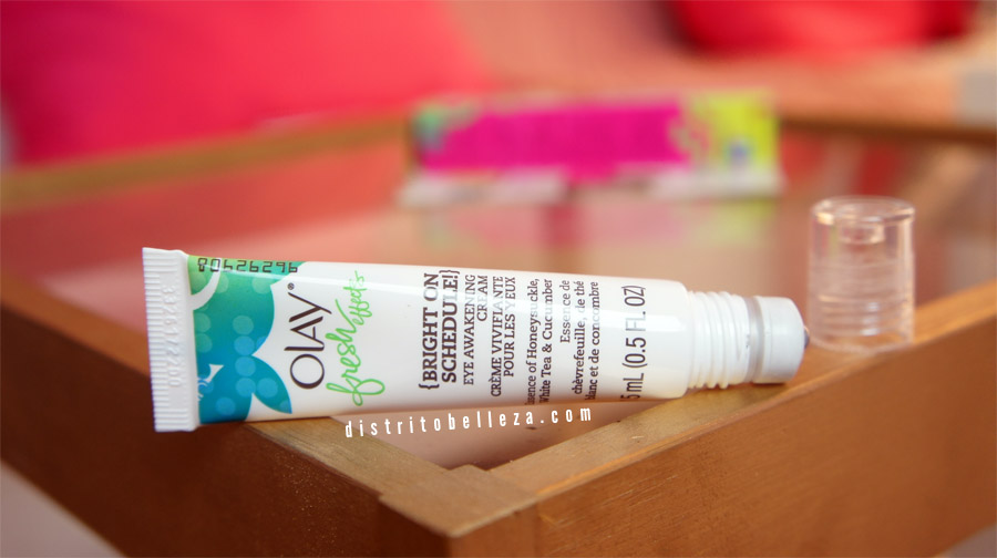 Crema para ojos Olay fresh effects