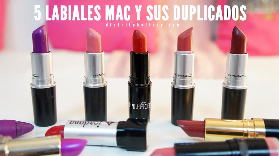 Duplicados labiales MAC Distrito Belleza