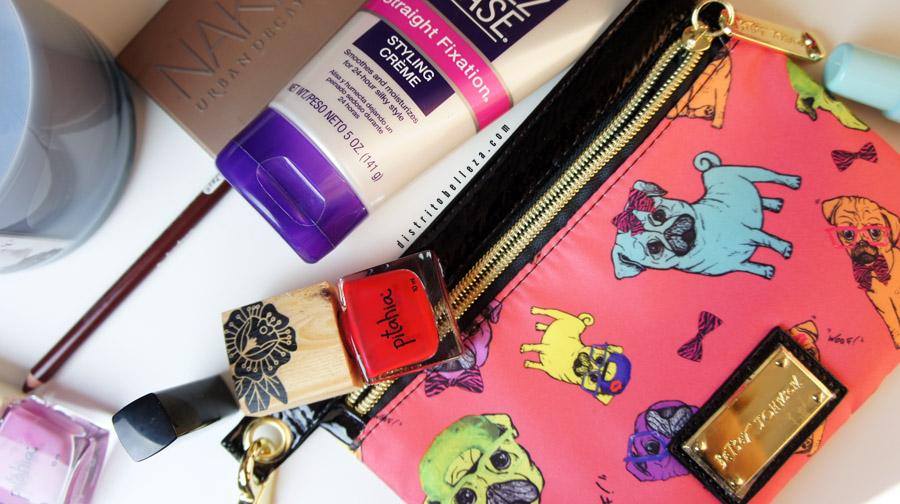 Favoritos Octubre 2014 bolsita de maquillaje distrito belleza