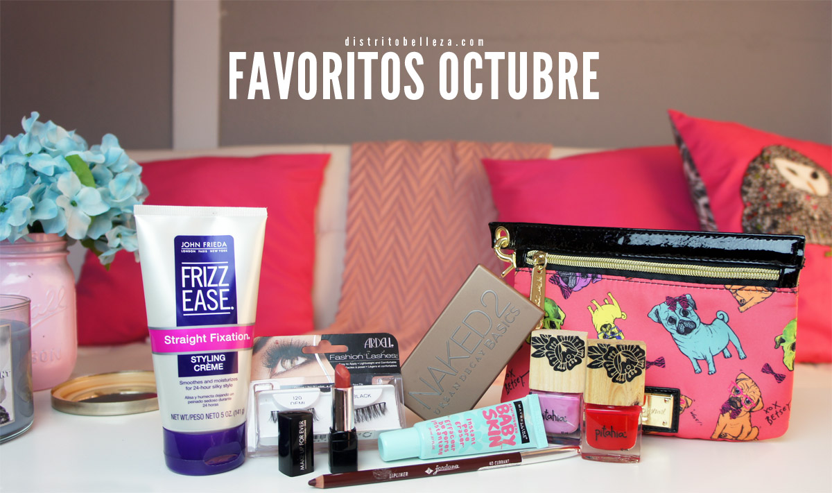 Favoritos Octubre 2014 distrito belleza