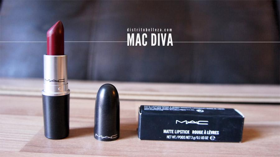 Labial Diva MAC Distrito Belleza