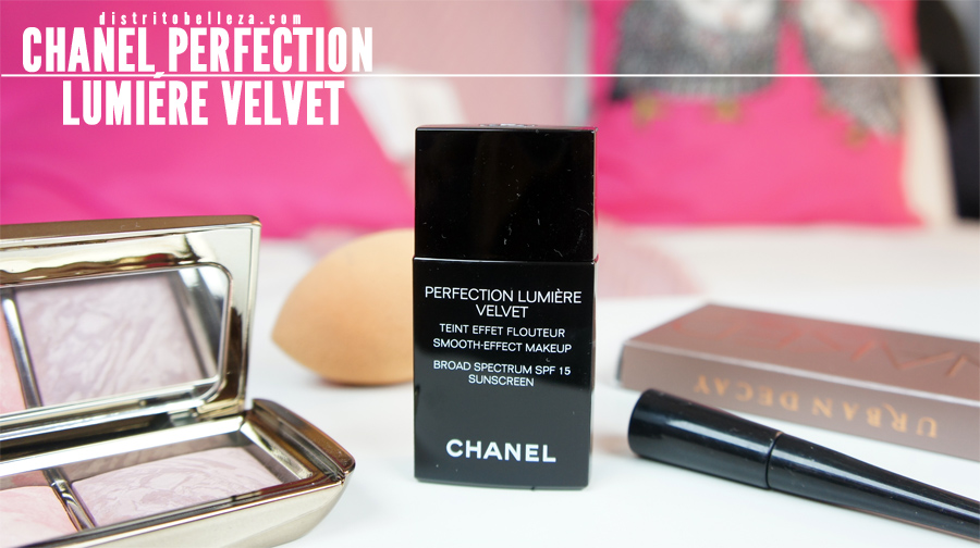 Maquillaje Chanel perfection lumiere Velvet Distrito Belleza