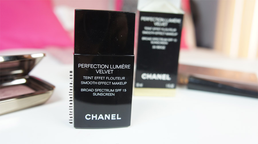 Maquillaje Chanel perfection lumiere Velvet empaque
