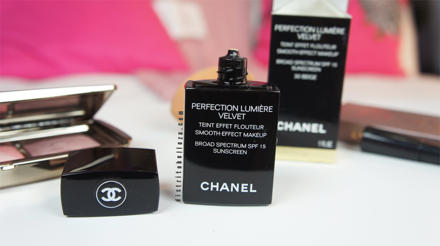 Maquillaje Chanel perfection lumiere Velvet
