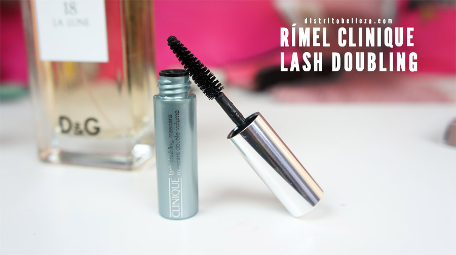 Rímel clinique lash doubling