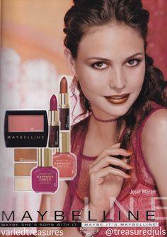 maybelline anuncio 90s