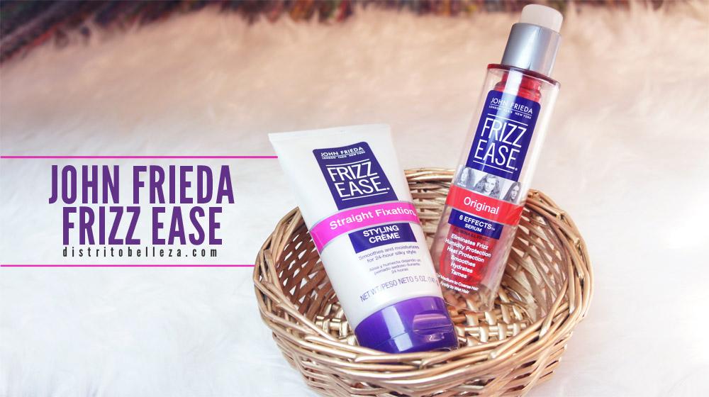 productos John Frieda frizz ease distrito belleza