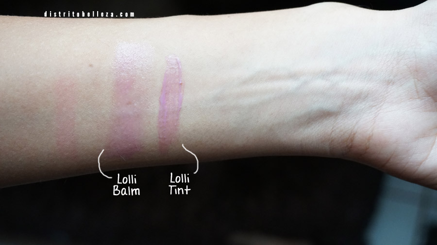 Benefit balms y tints 3 scoops o' sexy lolli tint