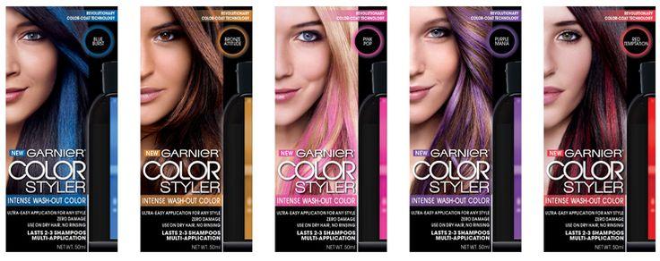 Las innovaciones de belleza 2014 garnier color styler