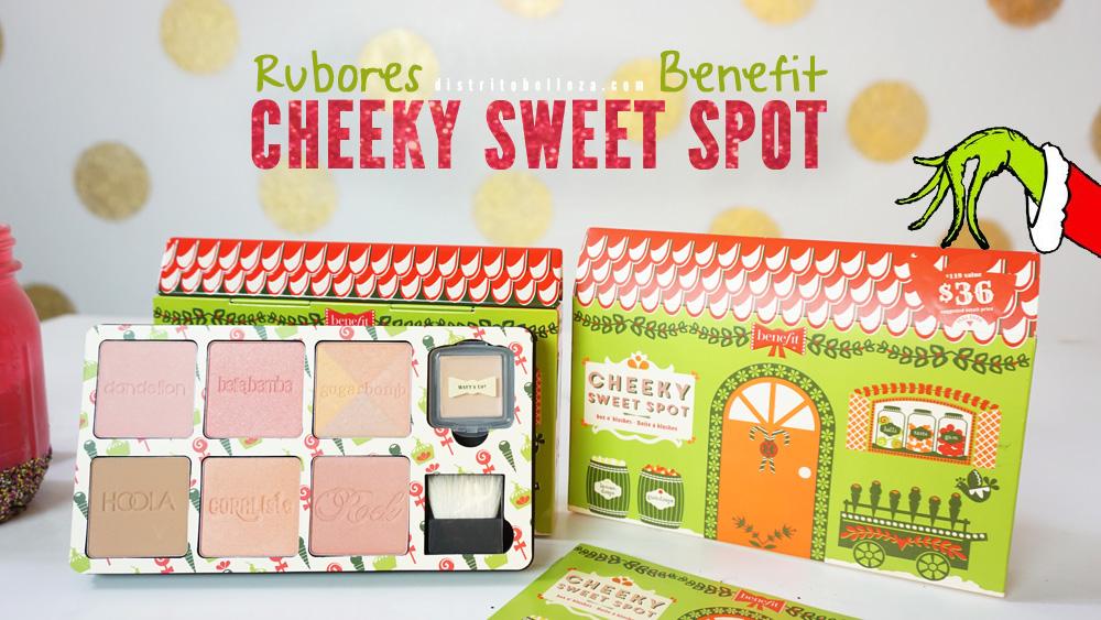 Rubores Benefit Cheeky sweet spot distrito belleza