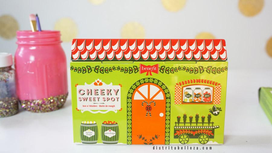 Rubores Benefit Cheeky sweet spot empaque