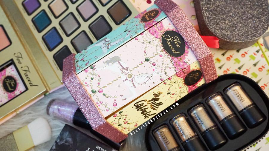 Sets de maquillaje para Navidad 2014 carrusel too faced