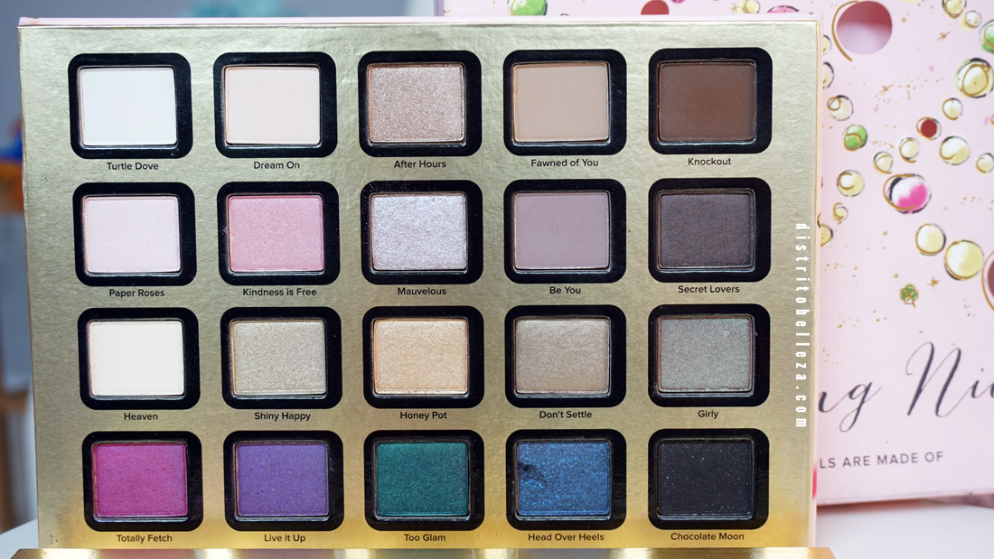 Sombras Too Faced Everything nice México