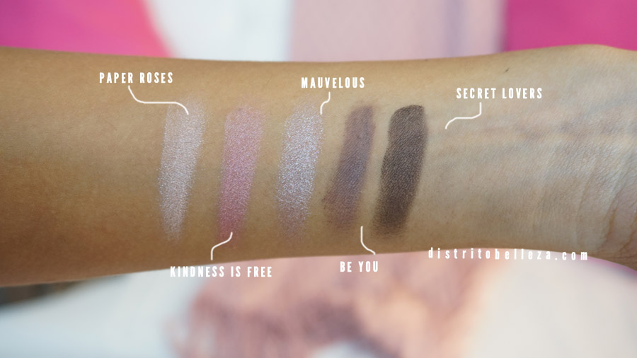 Sombras Too Faced Everything nice SOMBRAS 2