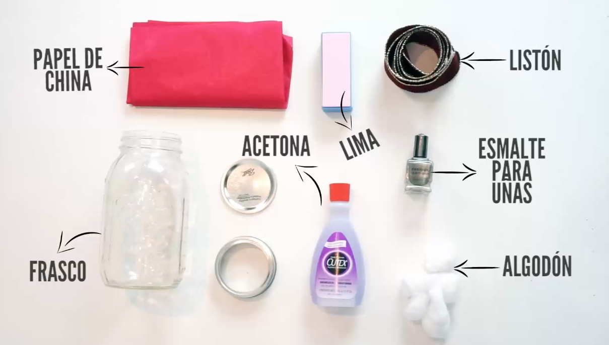diy regalos navidad fáciles materiales manicure