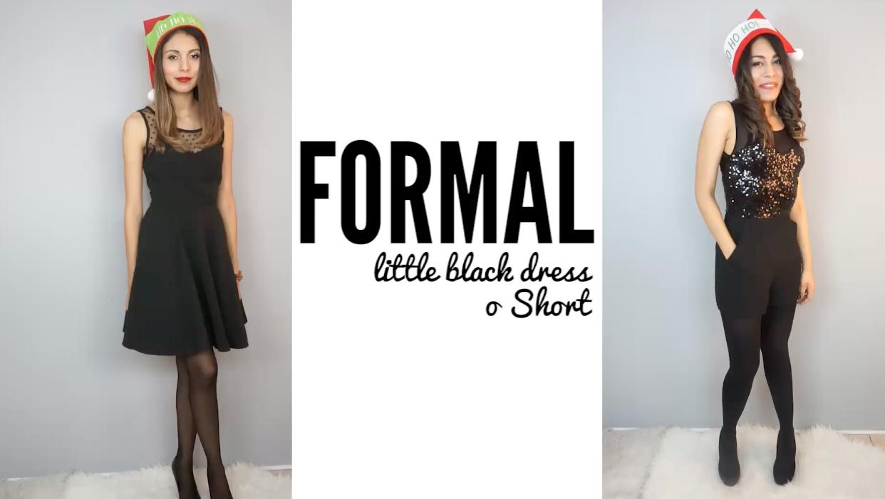 outfits para navidad formal
