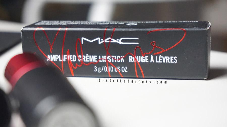 Colección Miley Cyrus MAC empaque