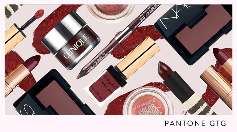 Color del año 2015 Marsala pantone maquillaje