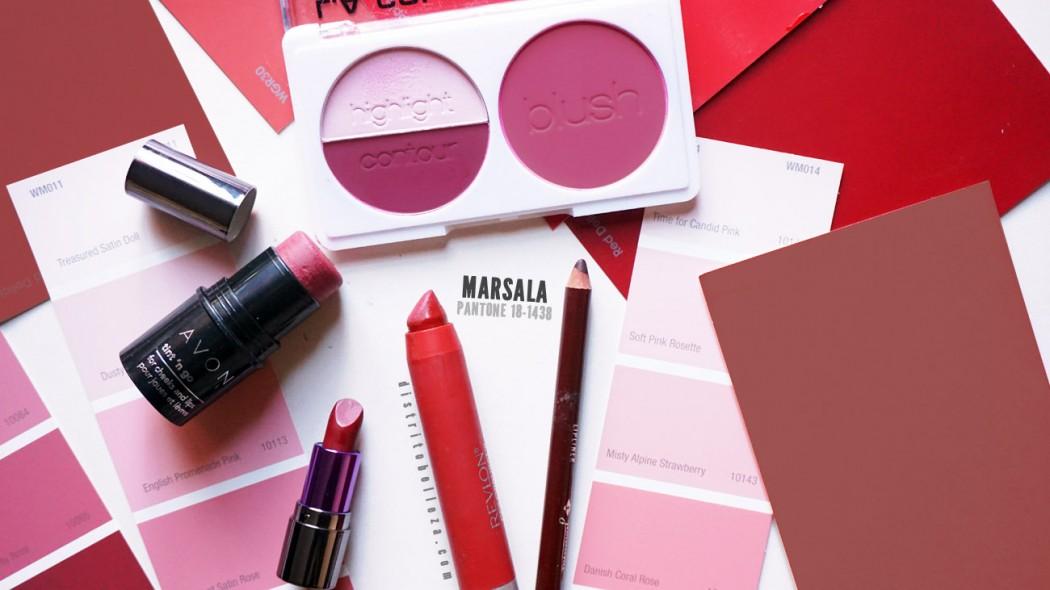 Color del año 2015 Marsala 2 Distrito Belleza