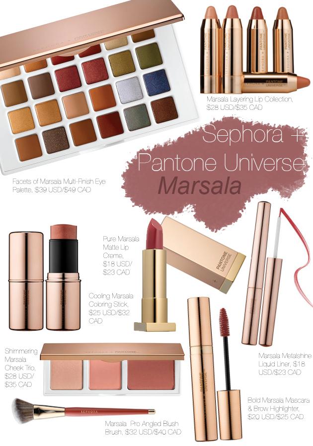 Color del año 2015 Marsala maquillaje