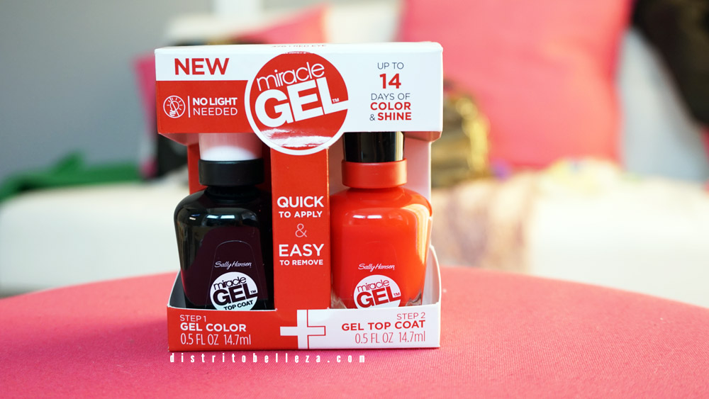 Esmalte Sally Hansen miracle gel dúo