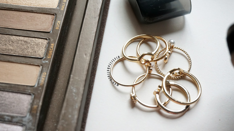 Nuestros básicos de belleza anillos