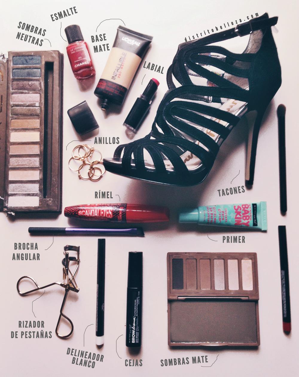 Nuestros belleza de maquillaje