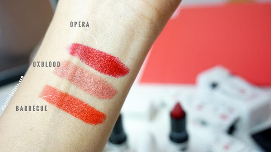 Colección Toledo MAC lipsticks
