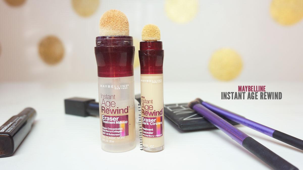 Base de maquillaje: Maybelline Instant Age Rewind