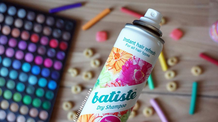 Batiste shampoo en seco aplicaciones