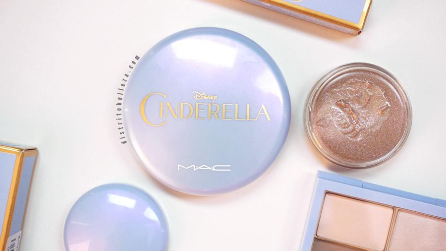 Colección Cinderella MAC empaque