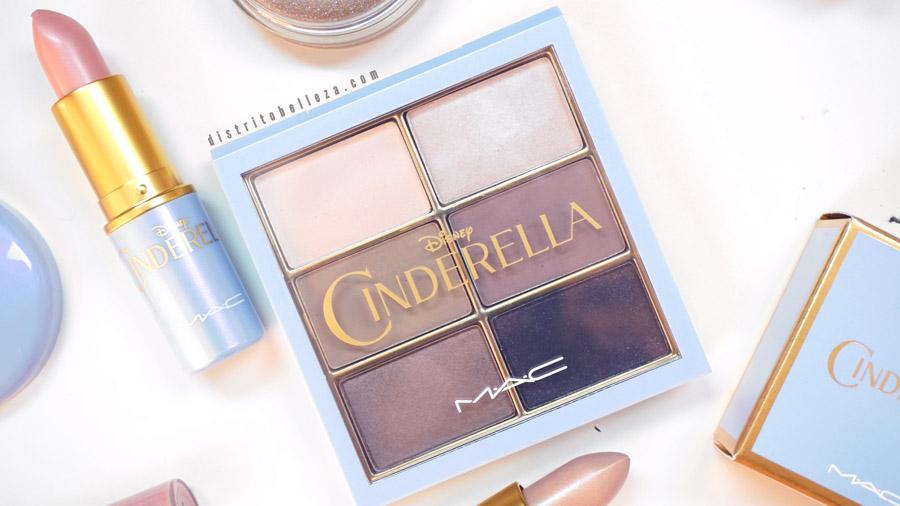 Colección Cinderella MAC paleta de sombras stroke of midnight