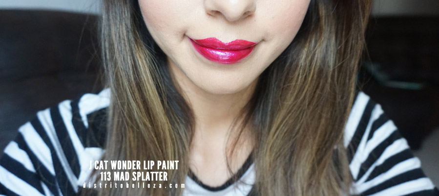 J cat Wonder Lip Paint 113 MAD SPLATTER