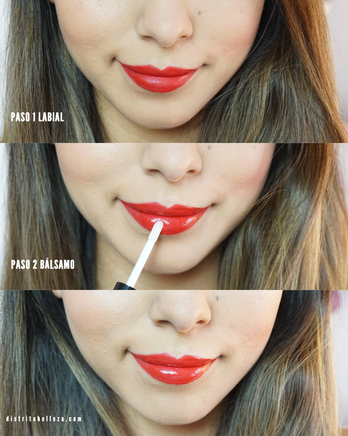 Labiales Rimmel london provocalips antes ydespues