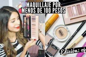 Maquillaje por menos de 100 pesos para ojos distrito belleza