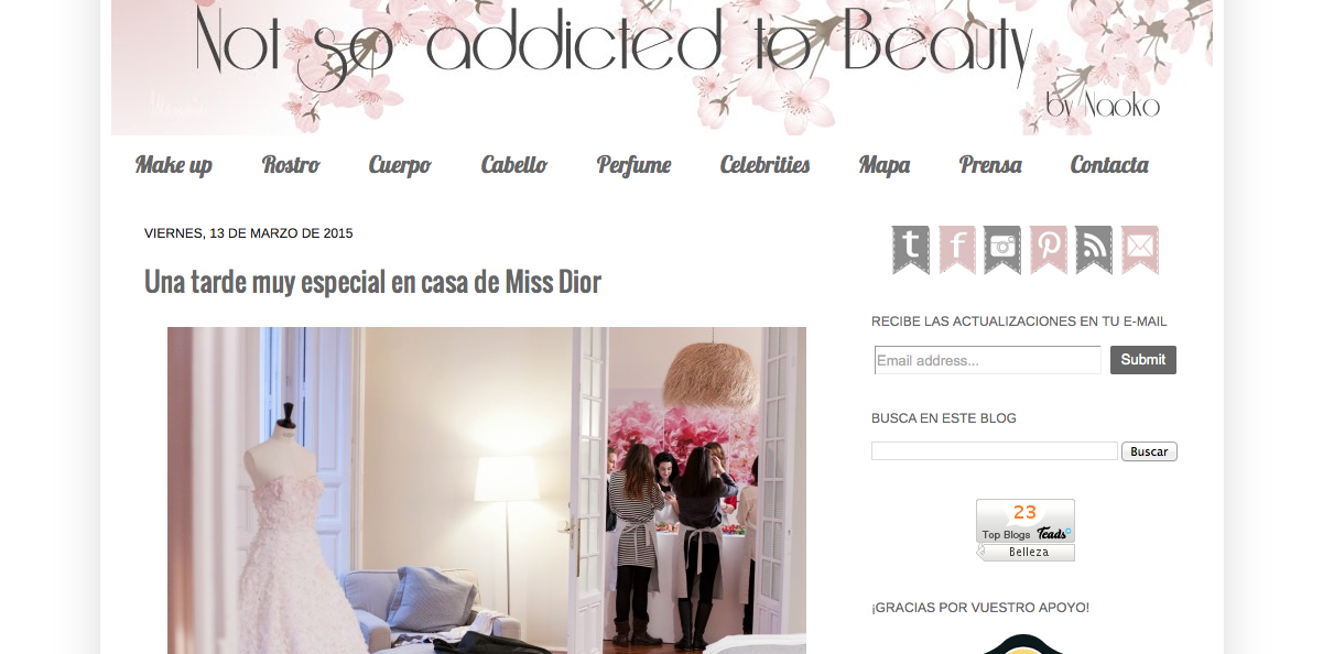 Nuestras bloggers favoritas not so addicted to beauty