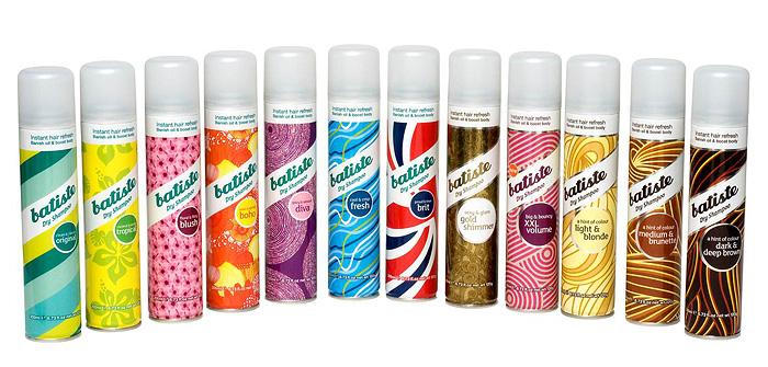 Shampoo en seco Batiste formulas