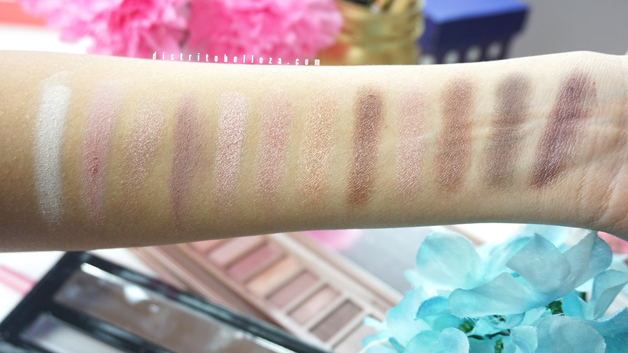 Sombras LA GIRL Beauty Brick Nudes colores