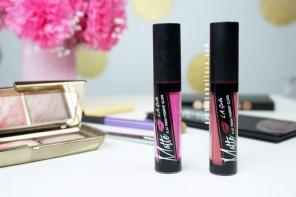 Labiales LA Girl Matte flat finish pigment gloss distrito belleza