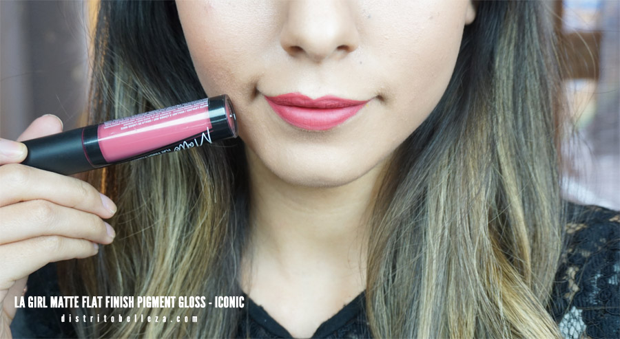Labiales LA Girl Matte flat finish pigment gloss iconic