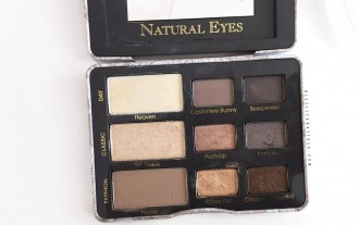 Paleta Too Faced Natural eyes distrito belleza