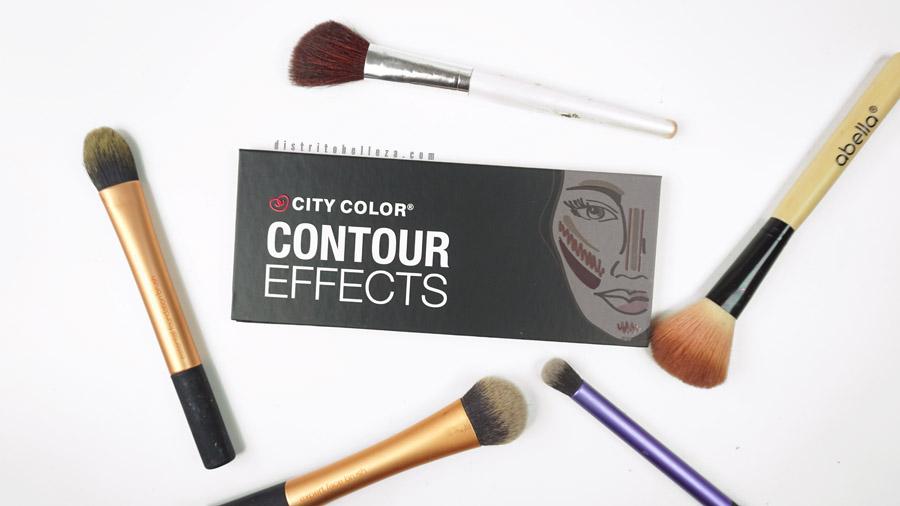 Paleta de contorno City Color empaque