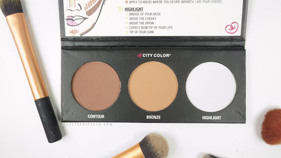 Paleta de contorno City Color