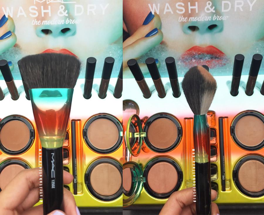 Colección MAC Wash and dry brochas