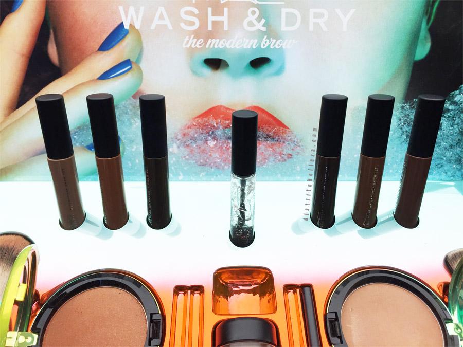 Colección MAC Wash and dry cejas
