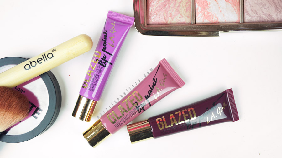 Labiales LA Girl Glazed lip paint