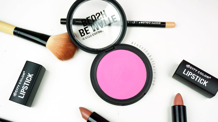Blush be matte city color packaging