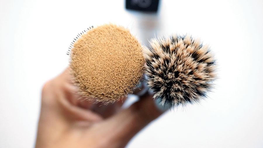 Brochas de doble fibra vs