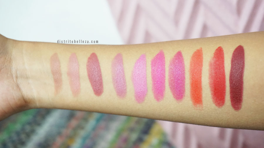 Labiales Maybelline mate colores